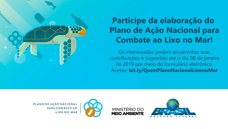 Participe da elaboração do Plano de Ação Nacional para Combate ao Lixo no Mar